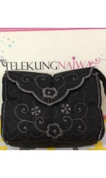 TELEKUNG TRAVEL COTTON BAG BLACK