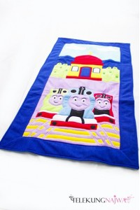 SEJADAH KANAK-KANAK~ THOMAS AND FRIENDS BLUE BORDER