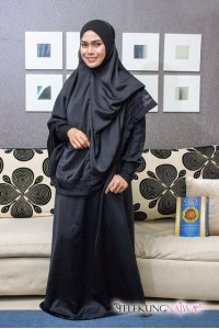 MINI TELEKUNG & JUBAH BLACK