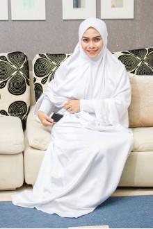 JUBAH WHITE