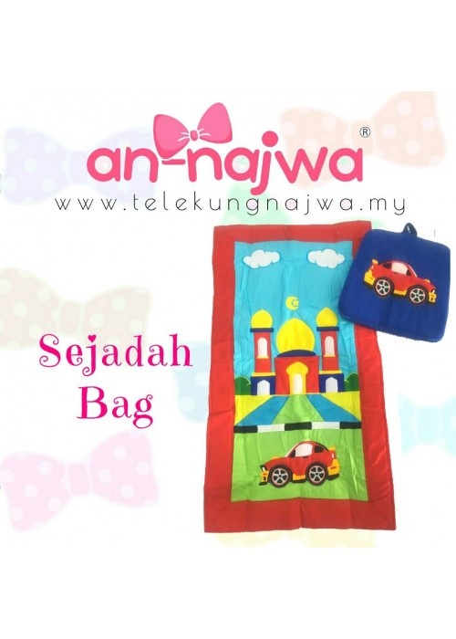 SEJADAH BAG RED RACING CAR