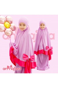 TELEKUNG AKASIA RIBBON PURPLE PINK