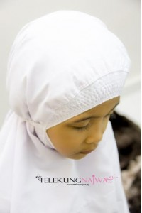 TELEKUNG KANAK-KANAK SMOCKING PLAIN (4 -6YEARS OLD)