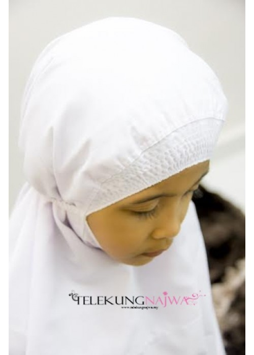 TELEKUNG KANAK-KANAK SMOCKING PLAIN (2-3YEARS OLD)